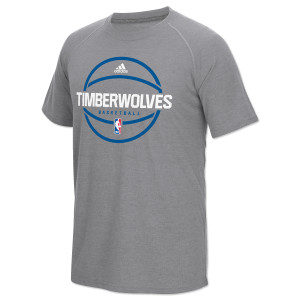adidas Timberwolves Pre-Game Graphic Ultimate T-Shirt