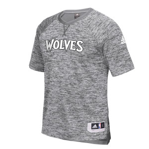 adidas Timberwolves Authentic On-Court Shooter Shirt