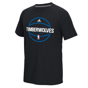 adidas Timberwolves Ultimate Performance Practice T-Shirt