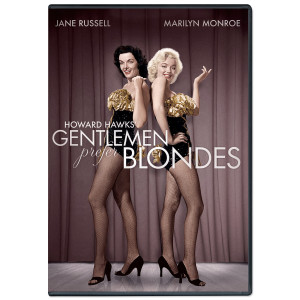 Marilyn Monroe Gentlemen Prefer Blondes DVD