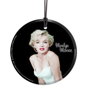 Marilyn Monroe Ballerina Series Hanging Glass Ornament