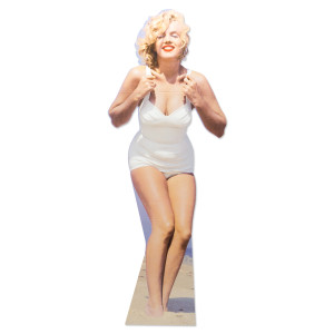 Marilyn Monroe Beach Lifesize Stand Up