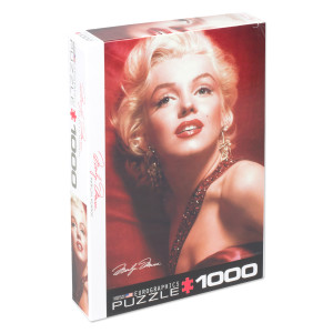 Marilyn Monroe Red Potrait 1000pc puzzle