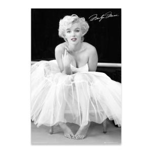 "Marilyn Monroe Ballerina 24""x36"" Poster"