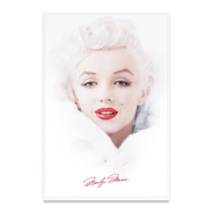 "Marilyn Monroe in White 24""x36"" Poster"