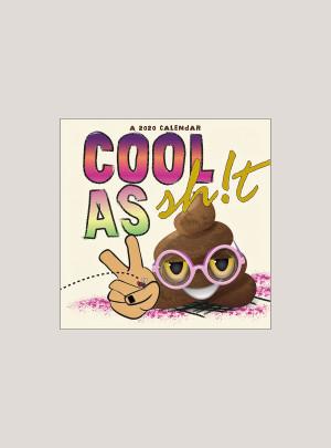 "2020 Cool as Sh!t 7"" x 7"" MINI WALL CALENDAR"
