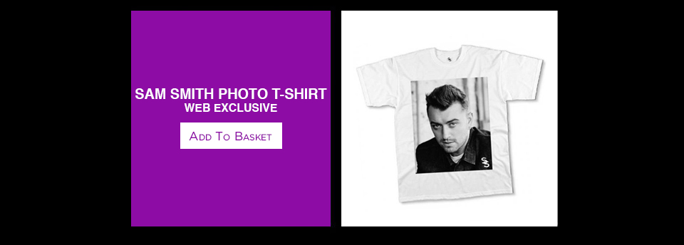 Exclusive Sam Smith Photo T-Shirt