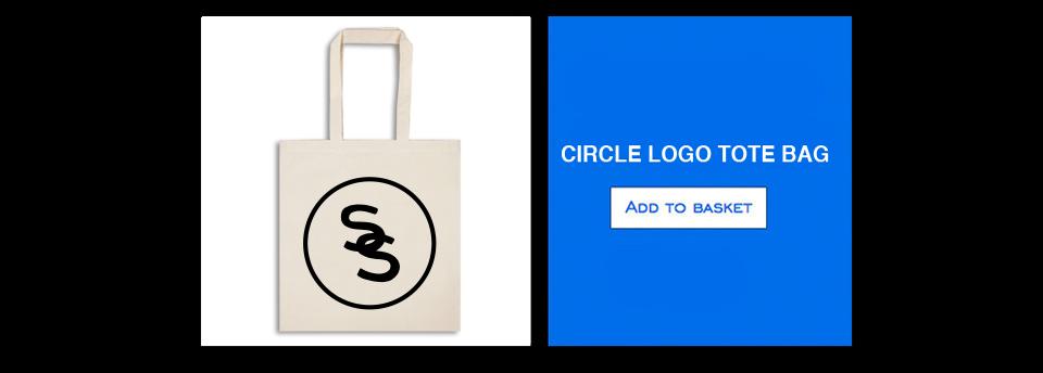 Sam Smith Circle Logo Tote