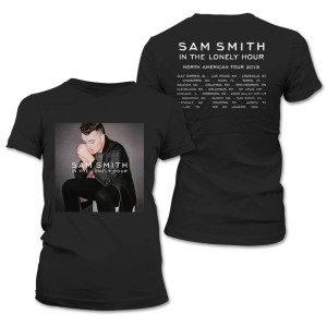 Sam Smith Lonely Hour Junior Tour T-Shirt