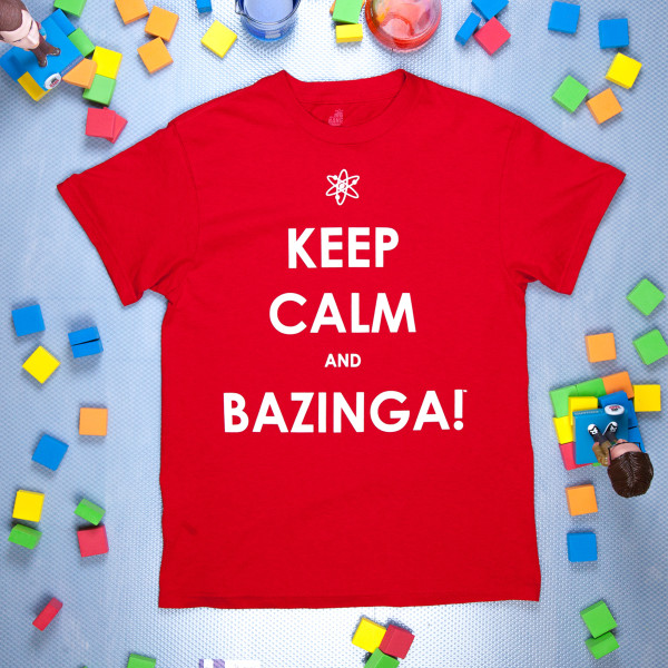 The Big Bang Theory Keep Calm T-Shirt
