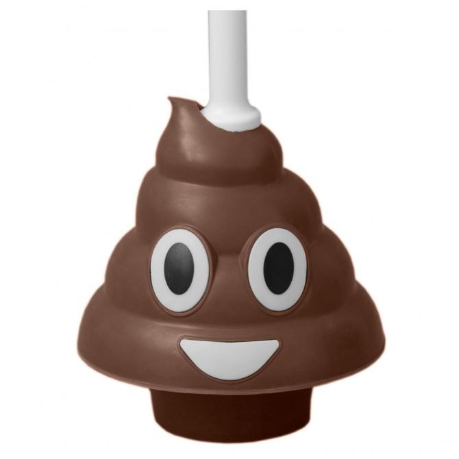 Poo Emoji Plunger