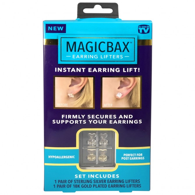 MagicBax™ Earring Lifters