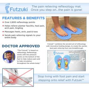 Futzuki Reflexology Massage Mat