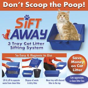 Sift Away Cat Litter Box