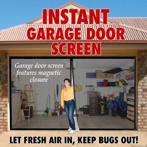 Instant Garage Door Screen [Double]