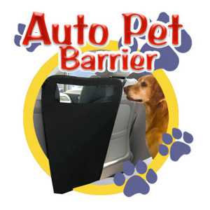 Car Seat Dog Barrier