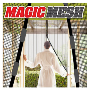Magic Mesh - Magnetic Screen Door Cover - As Seen On TV