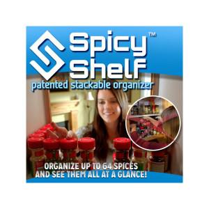 Spicy Shelf Organizer