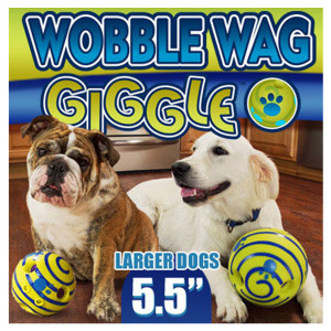 Wobble Wag Giggle Dog Ball
