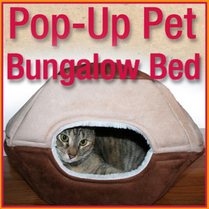 Popup Pet Bungalow Bed