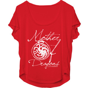Game of Thrones Mother of Dragons Women's Dolman T-Shirt