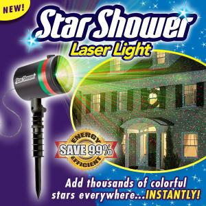Star Shower Laser Light  - As Seen On TV