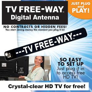 TV Free-Way Digital Antennae
