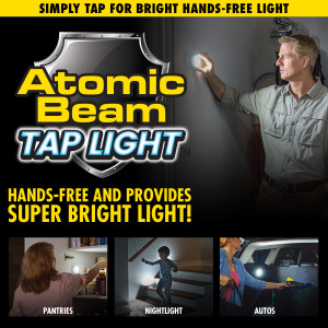 Atomic Beam Tap Light