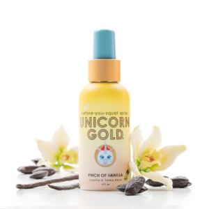 Unicorn Gold Pinch of Vanilla Potty Spray 4 oz