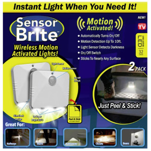 Sensor Brite Pack Wireless Motion Activated Lights