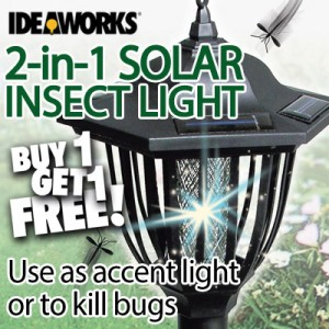 2-in-1 Solar Insect Light | Buy 1 Get 1 Free