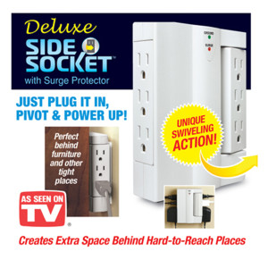 Side Socket with Surge Protection