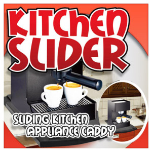 Sliding Kitchen Caddy
