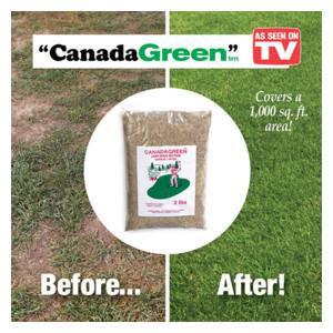 Canada Green Grass Seed 4 LB. Bag
