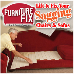 Furniture Fix - Lift And Fix Your Sagging Chairs And Sofas