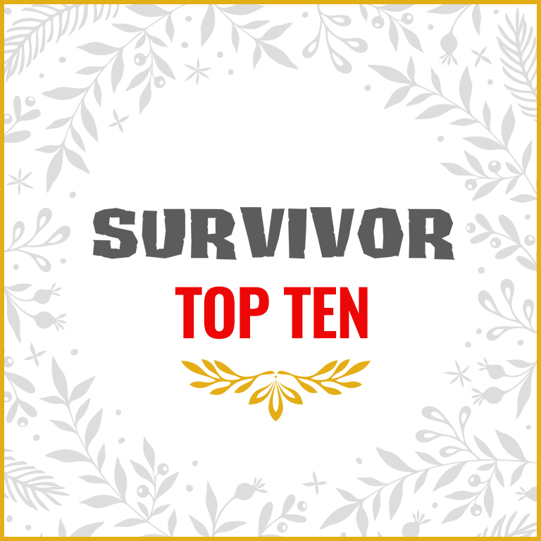 Survivor Top 10