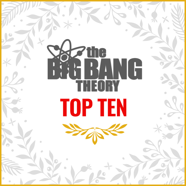 Big Bang Theory Top 10