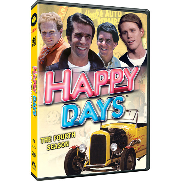 Happy Days: Season 4 DVD