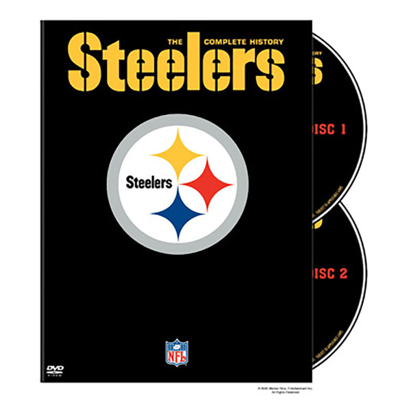NFL History of the Pittsburgh Steelers DVD | Shop the CBS Official