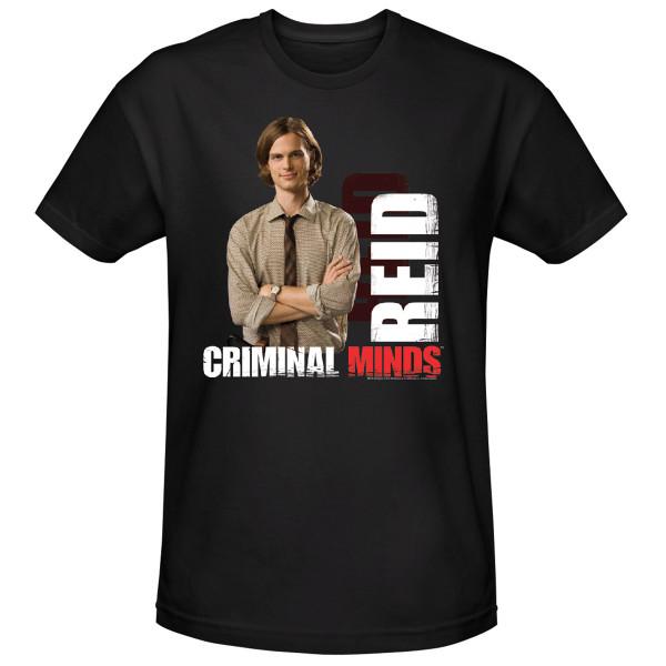 936c7912c1 Criminal Minds Agent Reid T-Shirt
