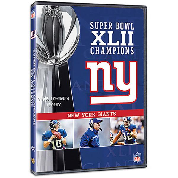 e26a1bfeedb Super Bowl XLII Champions New York Giants DVD