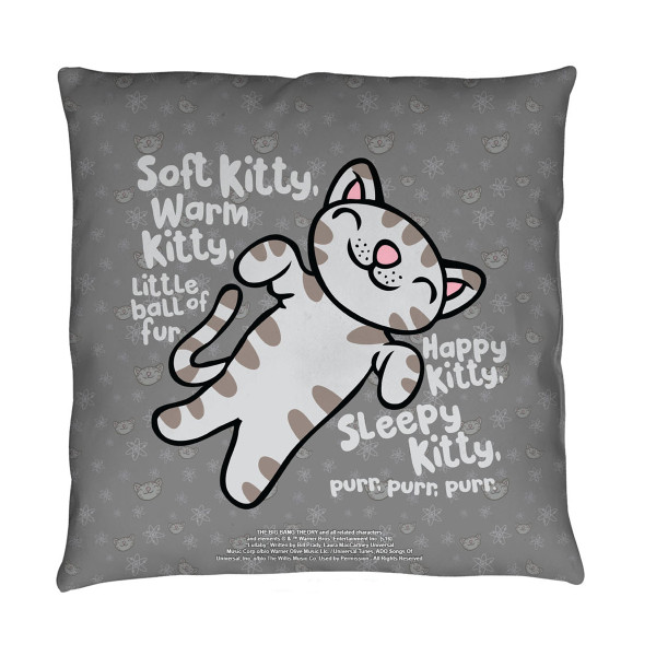 The Bang Theory Soft Kitty Throw Pillow