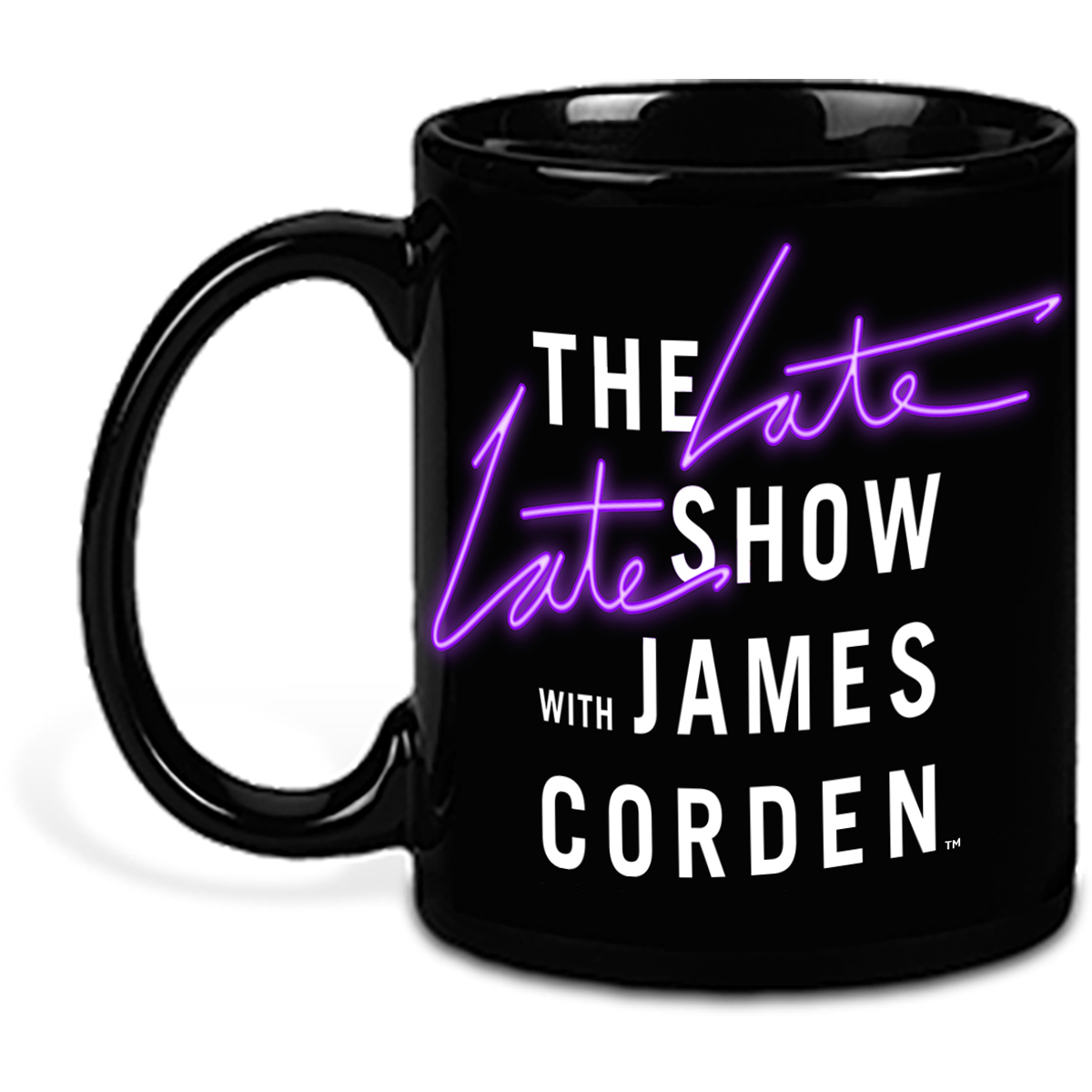 The Late Late Show with James Corden Mug (Purple)