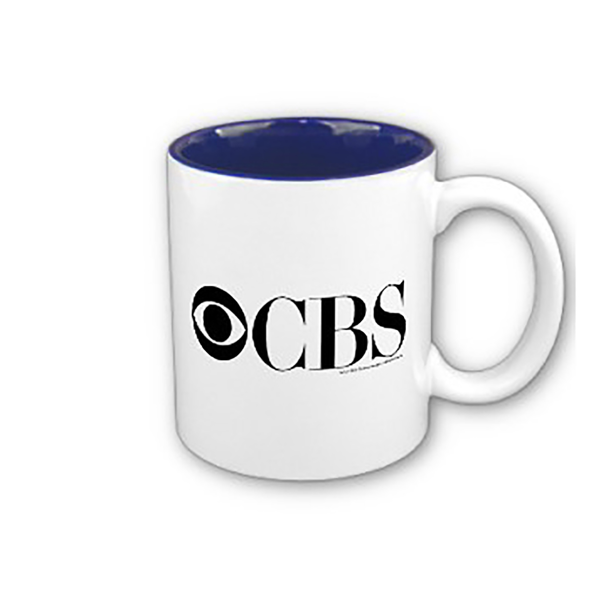 CBS Logo Two-tone Mug