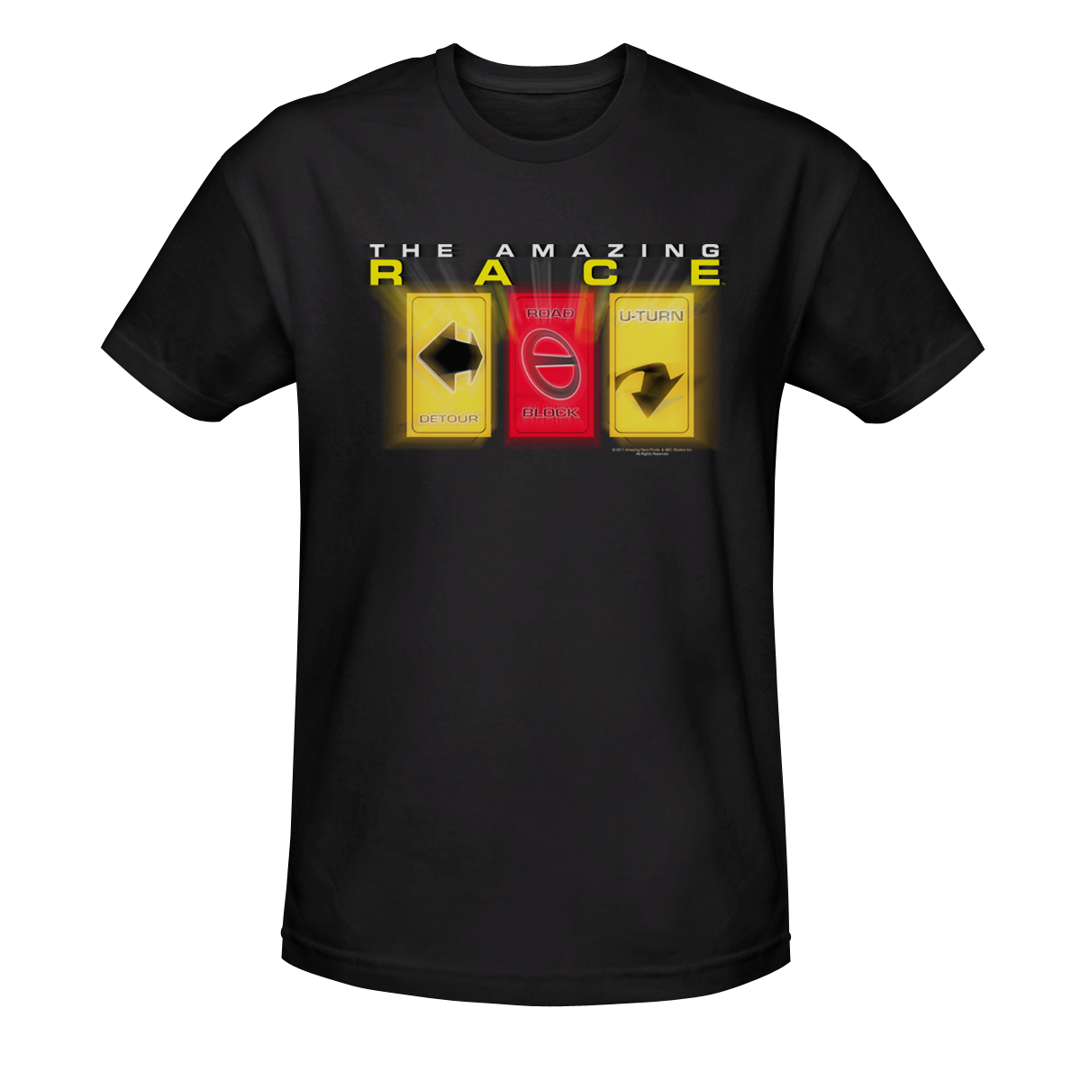 The Amazing Race Road Sign T-Shirt