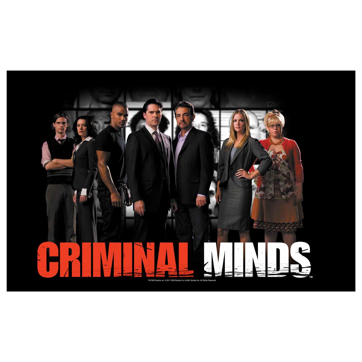 Criminal Minds Cast Poster