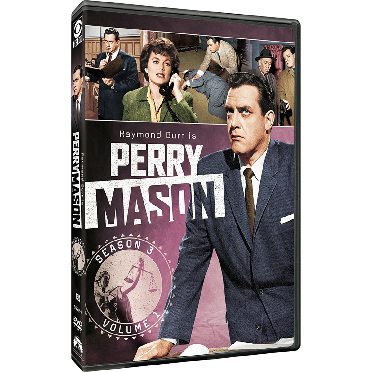 Perry Mason: Season 3 - Volume 1 DVD