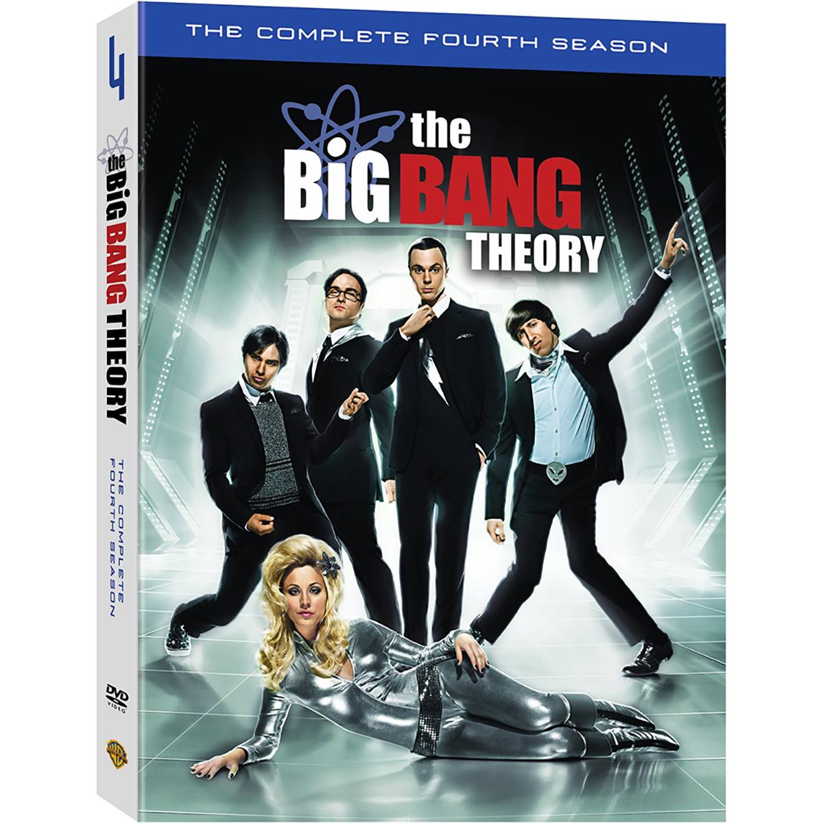 The Big Bang Theory: Season 4 DVD