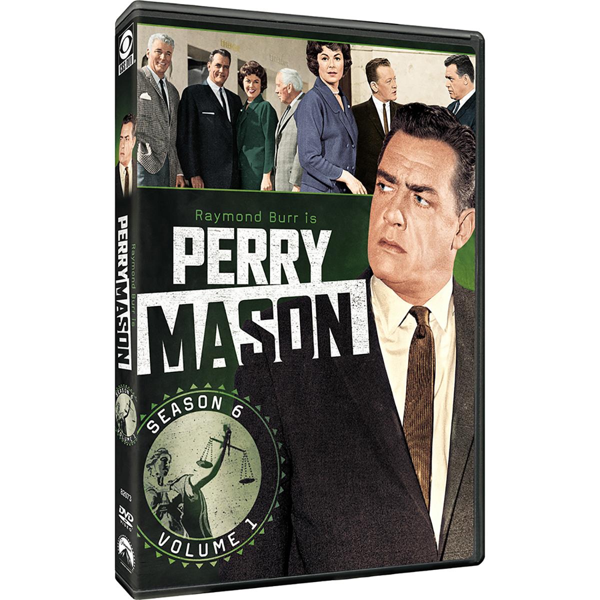 Perry Mason: Season 6 - Volume 1 DVD