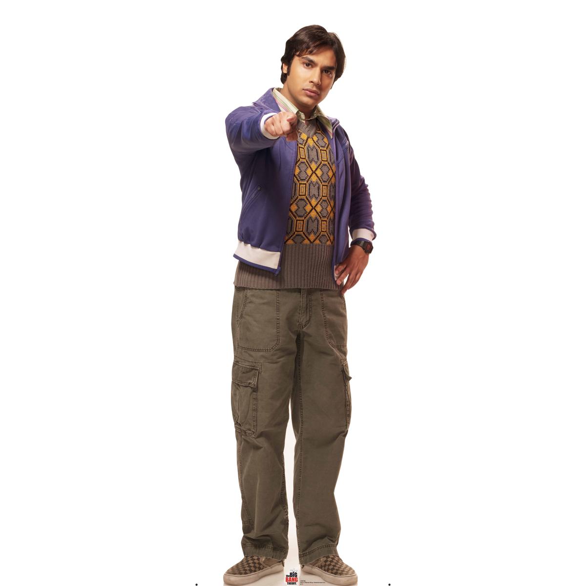 The Big Bang Theory Raj Standee